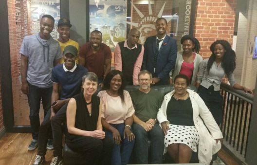 The SA Community Advisory Panel and RYSE researchers Bottom photo, back row: Simphiwe Zulu, Tiisetso Makhafola, Eric Twum-Antwi. Isaac Thubane, Richard Ngoma, Thandiwe Mtengwane, Mosna Khaile Middle row : Thulani Mcongwane Front row : Linda Theron, Winnie Moya, Michael Ungar, Busi Khumalo